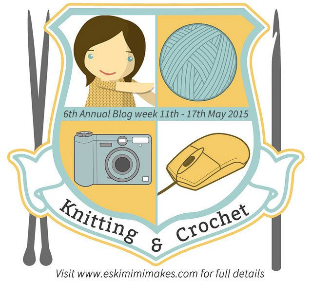 6th Annual Knitting &amp&#x3B; Crochet blog week... bientôt !