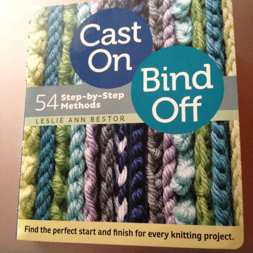 54 step-by-step methods : cast-on, bind-off