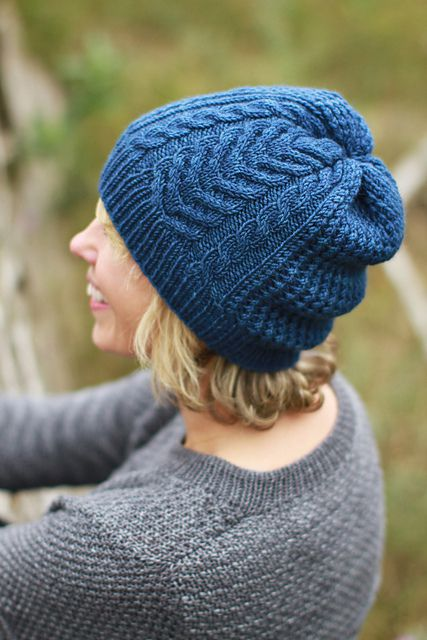 Gone Camping hat par Plucky Knitter Design