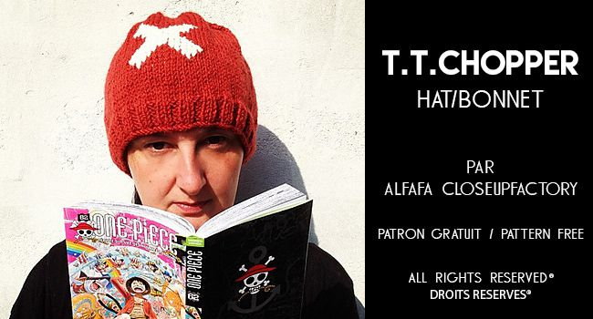 TONY TONY CHOPPER hat/bonnet par Alfafa