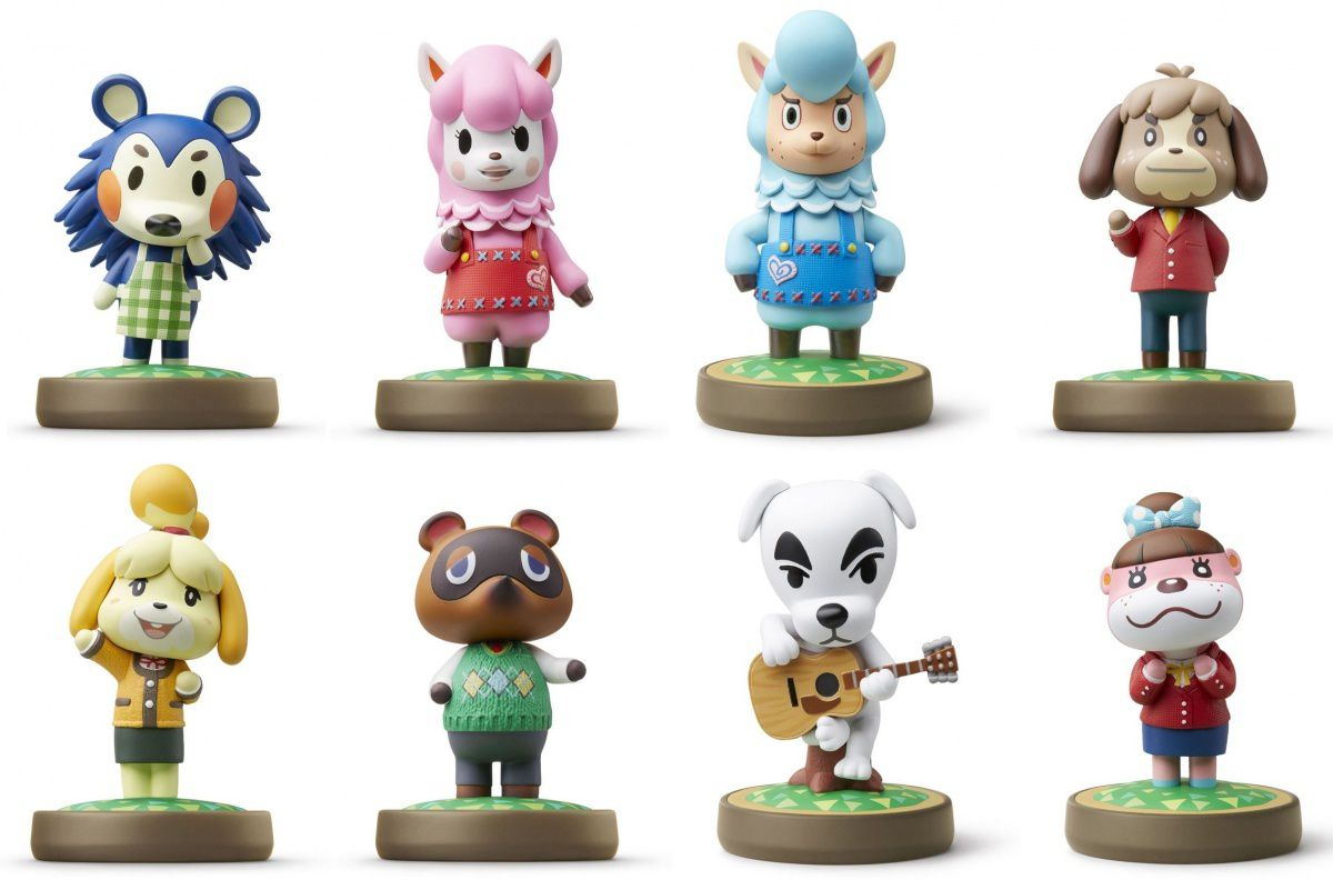 Personnages Amiibo Animal Crossing