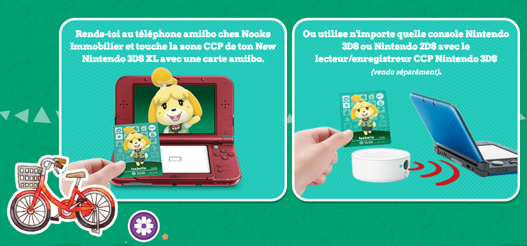Utilisations des goodies Animal Crossing