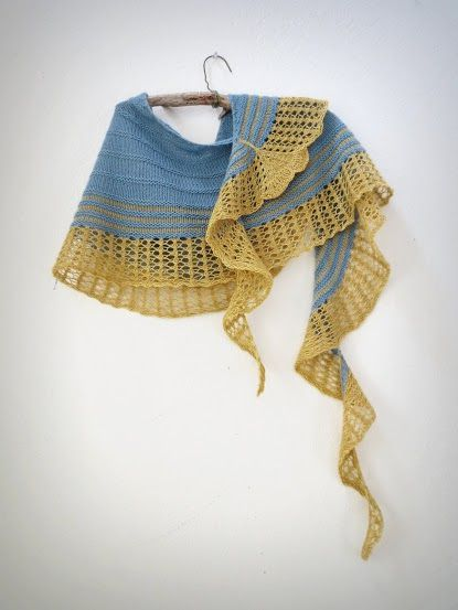 Gingko shawl par Yellowcosmo