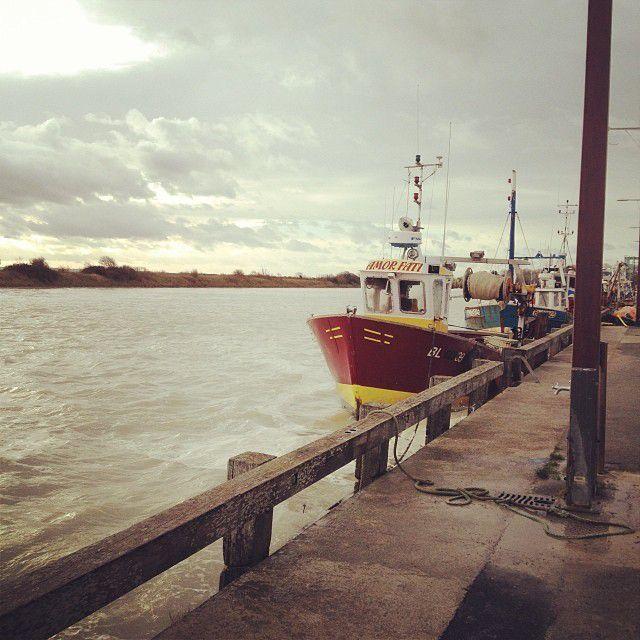 Entre ciel et mer... tricot et Baie de Somme