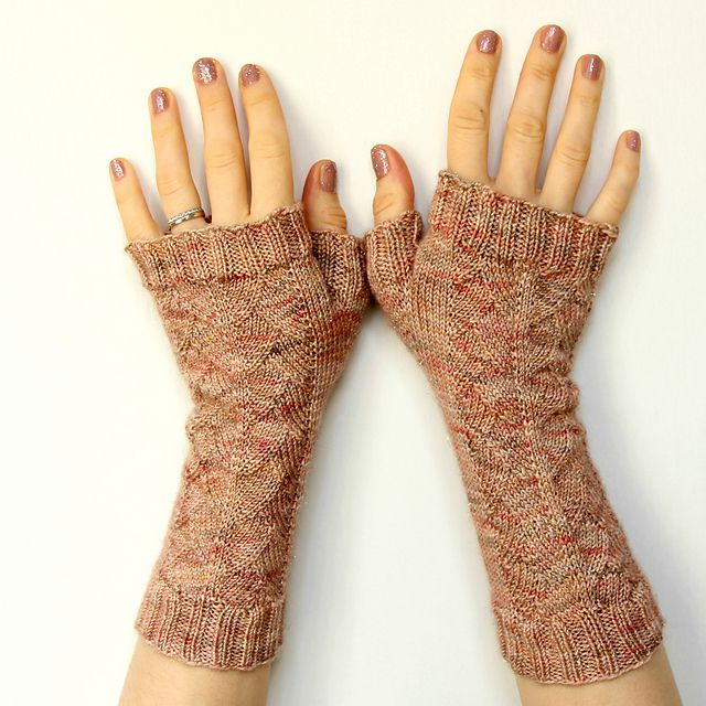 My cup of tea mitts par Fluffy Fibers