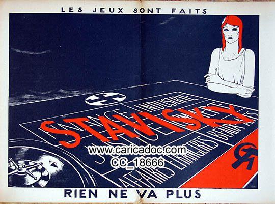 Affaire Stavisky - Stavisky-Affäre - Stavisky Affair
