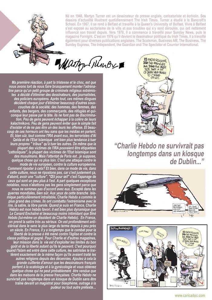 Après Charlie, paroles de dessinateurs : exposition à imprimer