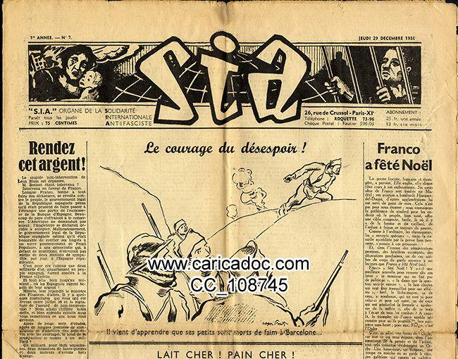 Guerre d'Espagne 1936 révolution espagnole, frente popular, guerre civile espagnole