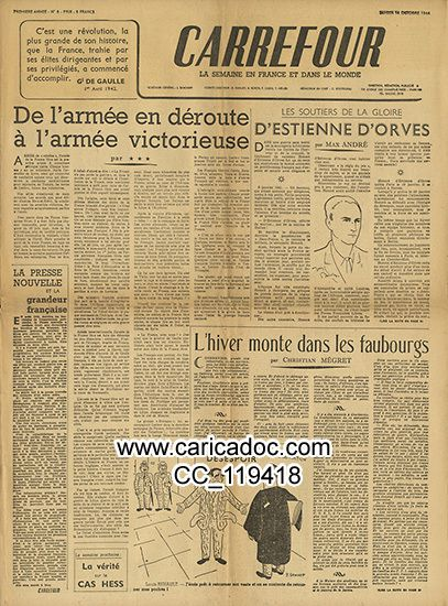 1944 Seconde Guerre Mondiale Vichy Collaboration Libération