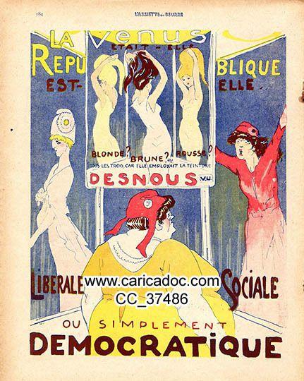 Marianne France années 1910, 1911, 1912, 1913, 1914, 1915, 1916, 1917, 1918, 1919