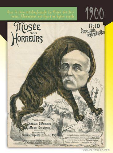 Georges Clemenceau [caricatures] : exposition à louer