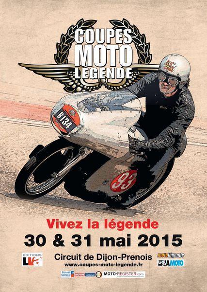 Coupes Moto Légende 2015 Dijon Prenois