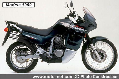 La Honda Transalp à 30 ans