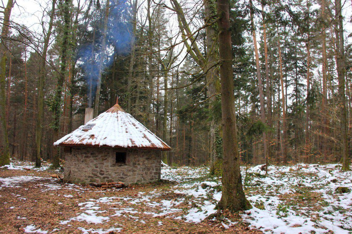 La cabane ronde