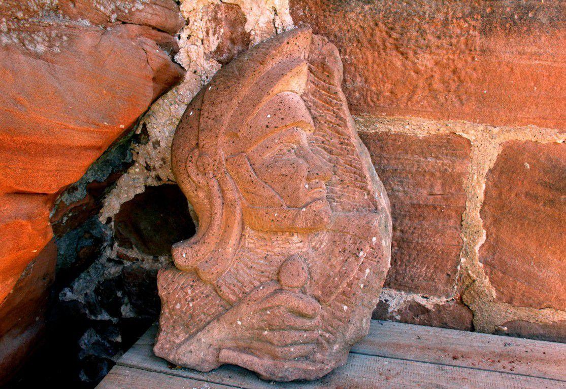 Une sculpture représentant le chevalier de Durckheim ?