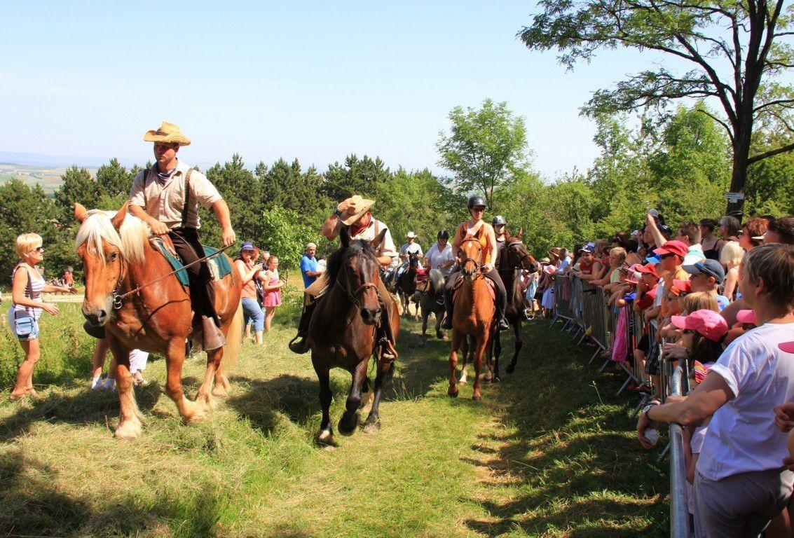 Bénédiction des chevaux au Goeftberg
