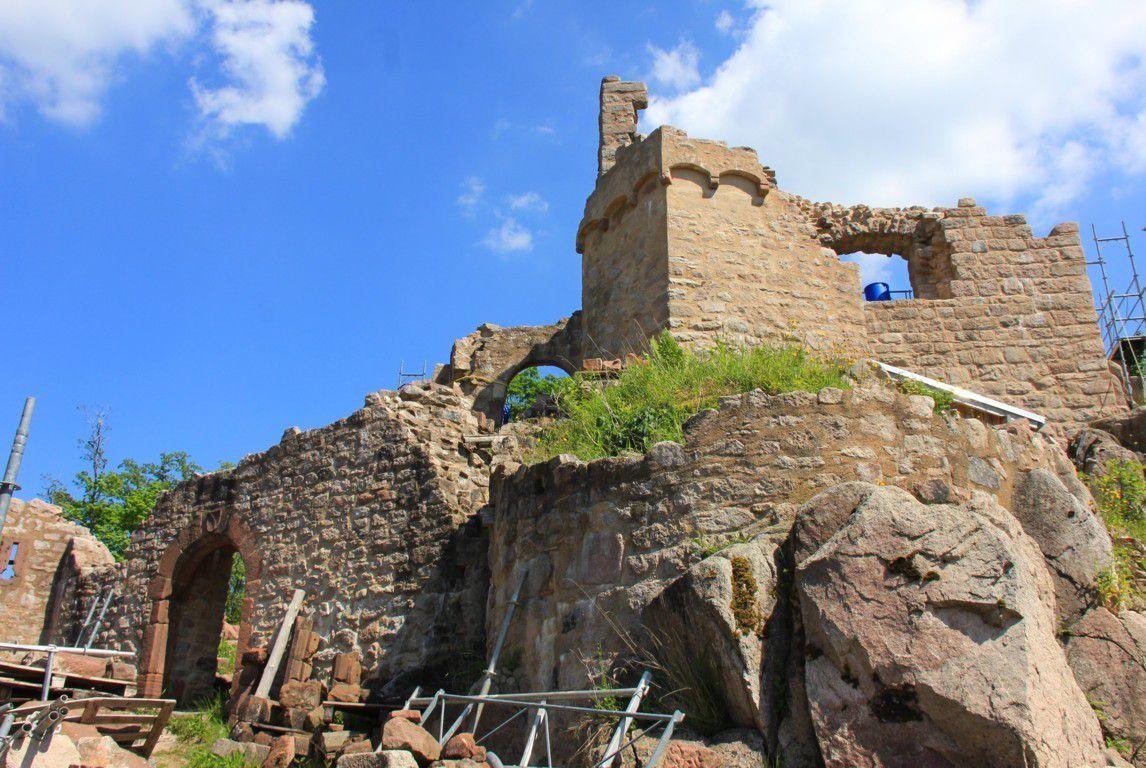 Renaissance d'un château médiéval