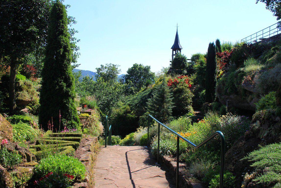 Le jardin alpestre de St Vit.