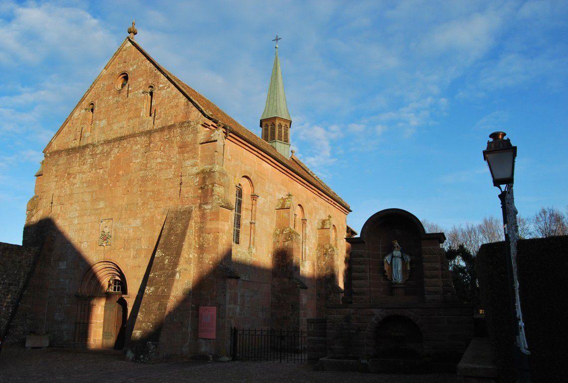 La chapelle romane de Sainte Marie de l'Assomption à Obersteigen.