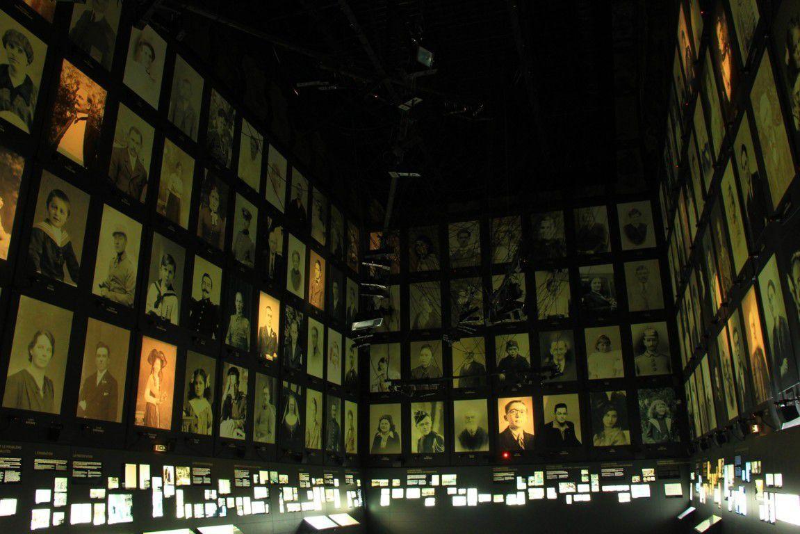 La galerie des portraits.
