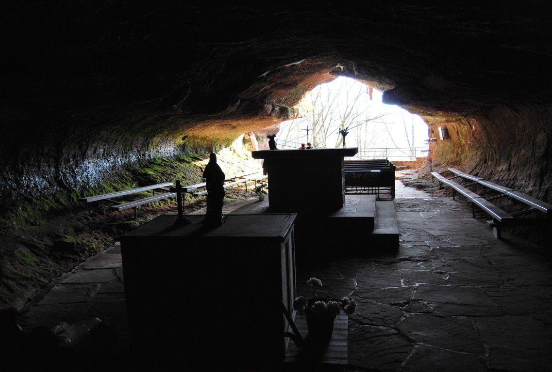 La grotte.