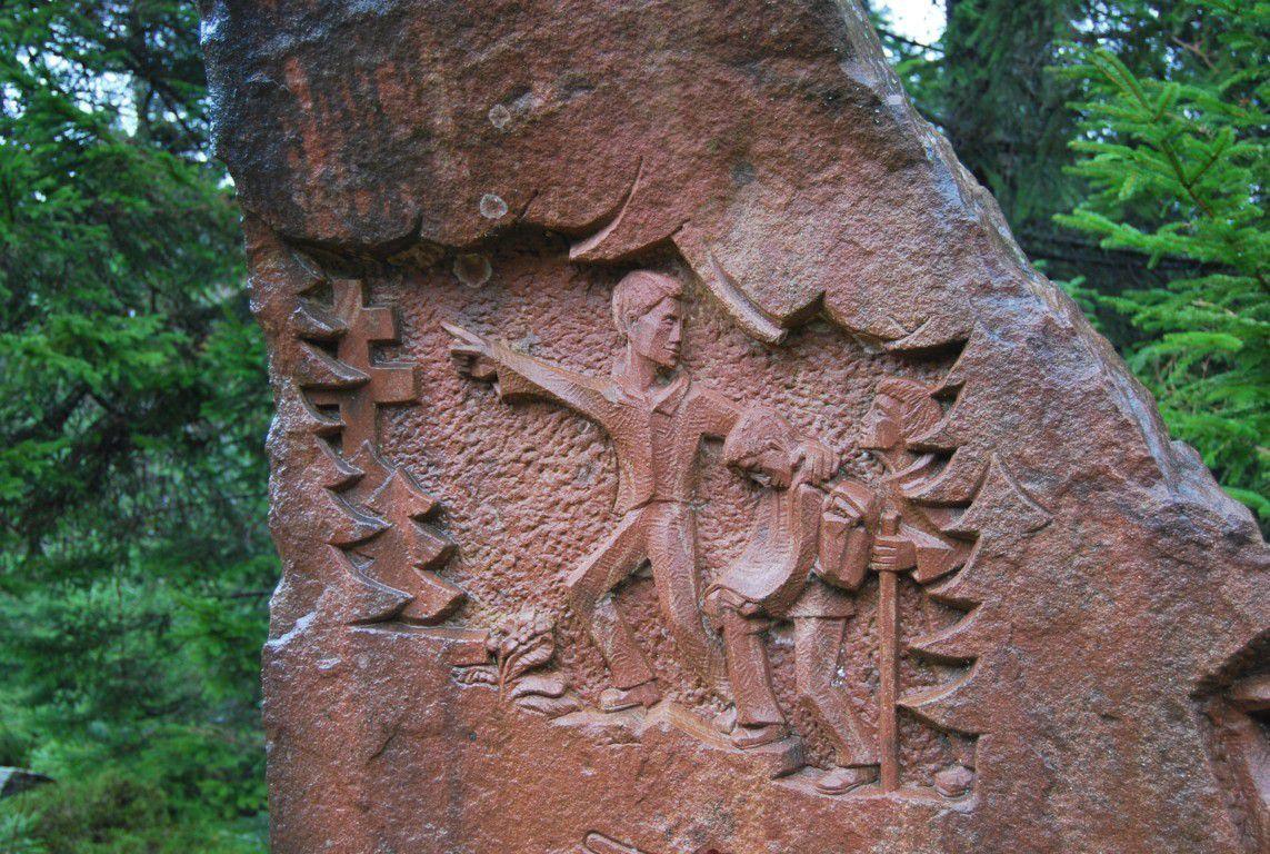 Le monument des Passeurs.