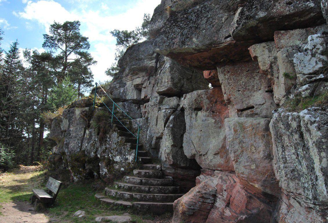 Les roches de St Martin