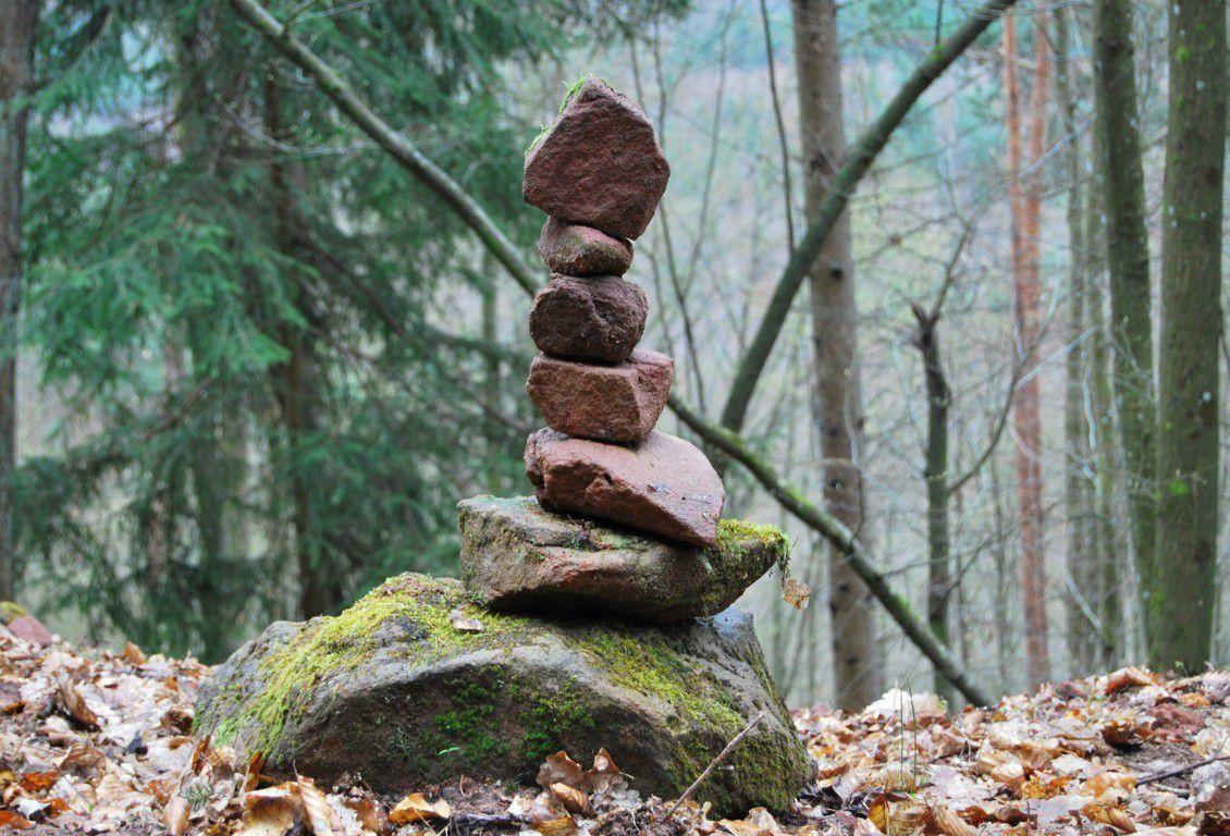 Les rochers de la vallée des chevreuils