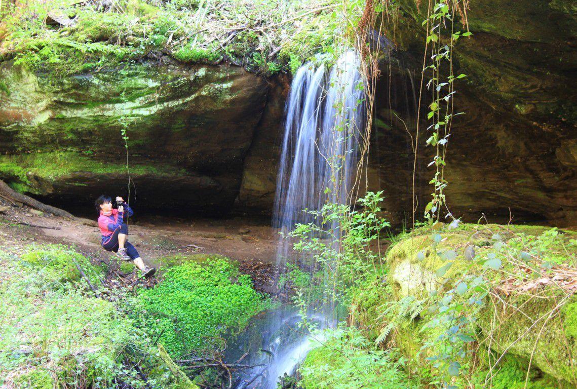Les eaux vives de la seconde cascade du Neubach