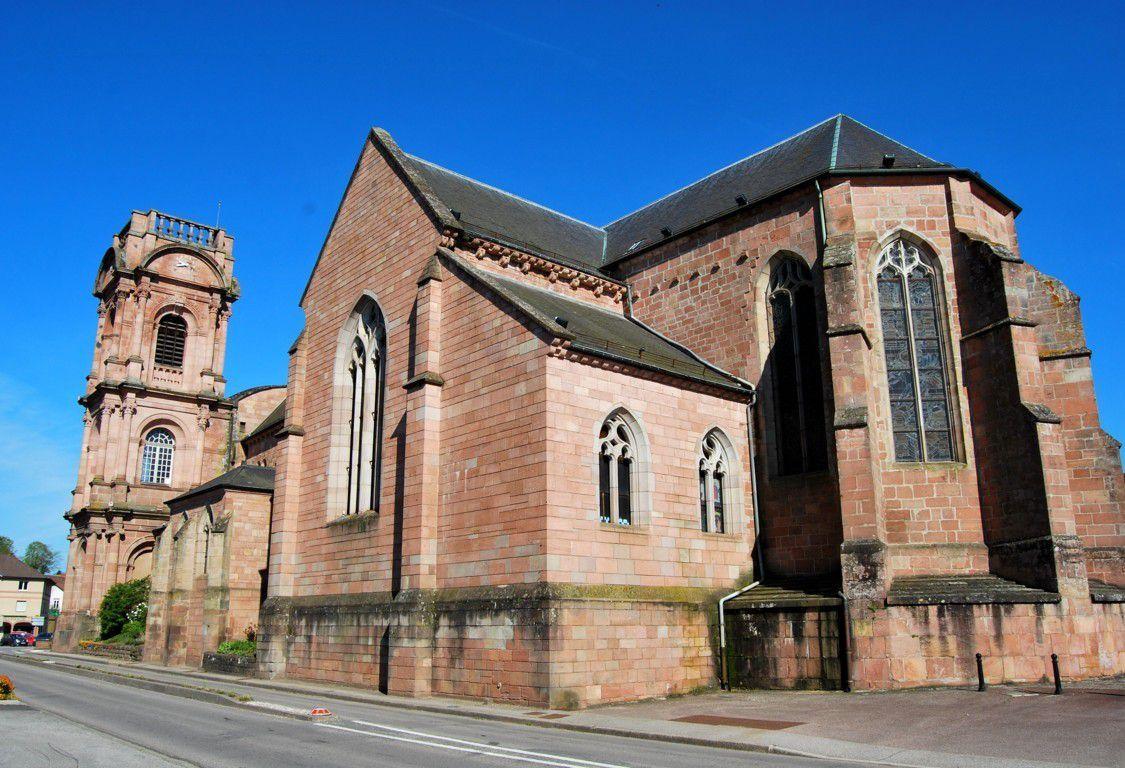 L'abbaye Saint Pierre d'Etival - Clairefontaine