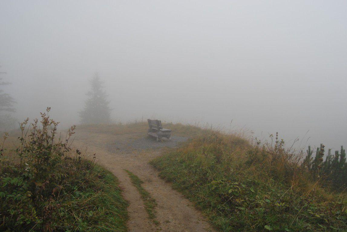 Bon, d'accord, il y a du brouillard ...