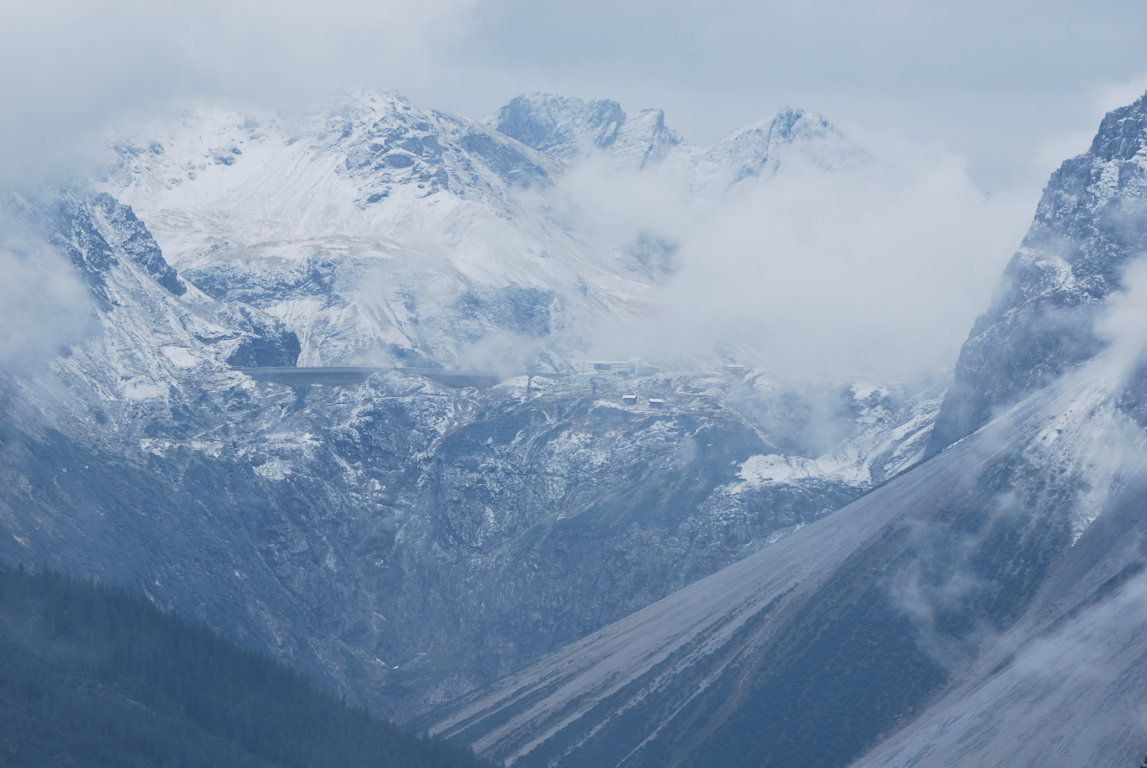 Brandner Gletscher, le glacier local