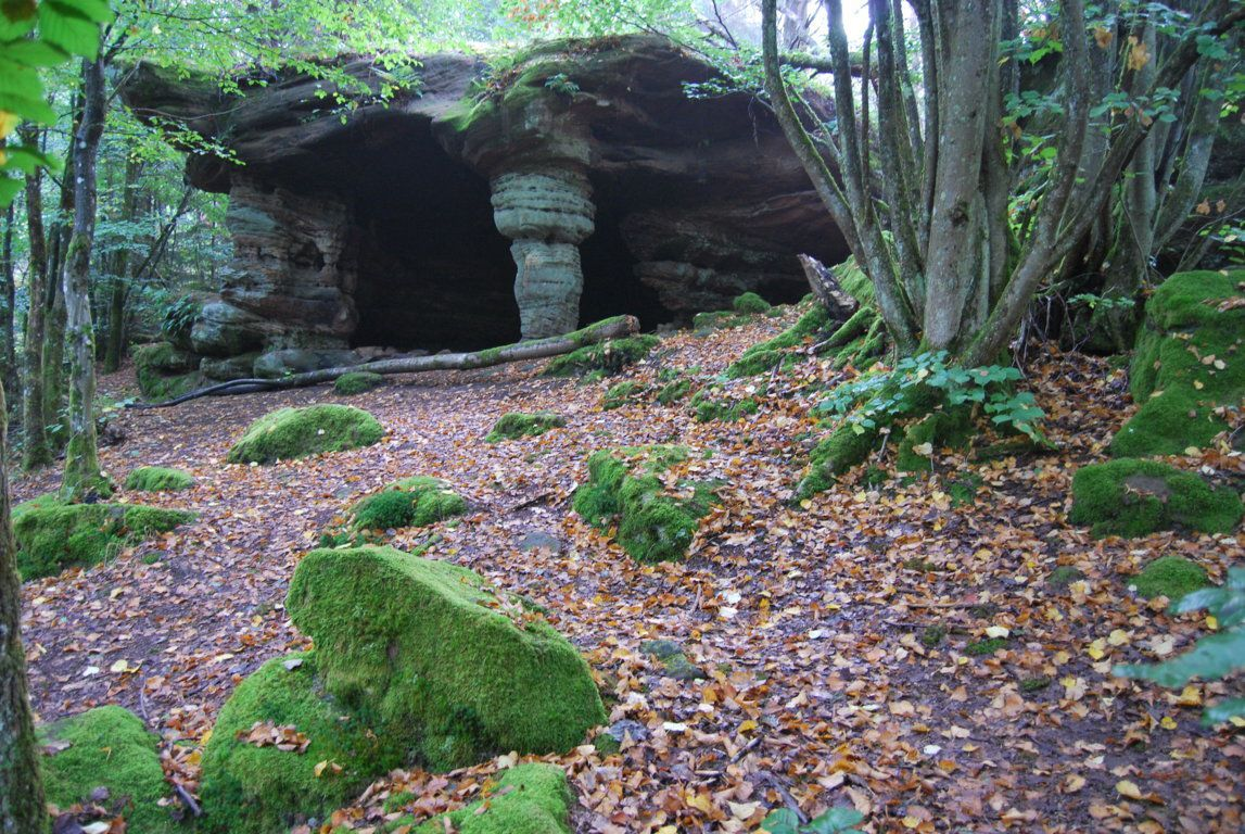 La grotte de l'Erbsenthal