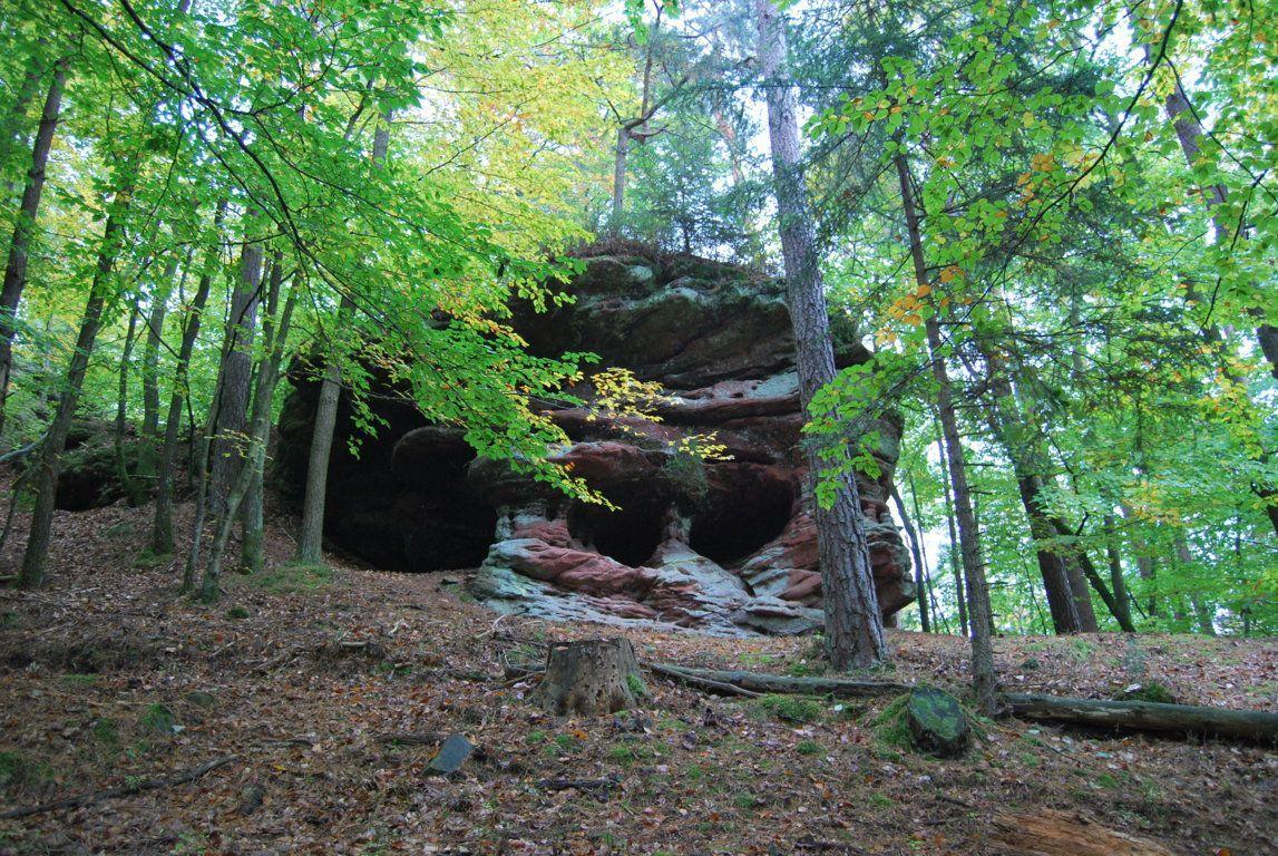 Un rocher au Sandkopf
