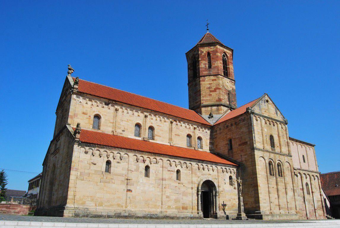 St Pierre et St Paul est sans doute l'une des plus belles églises romanes d'Alsace