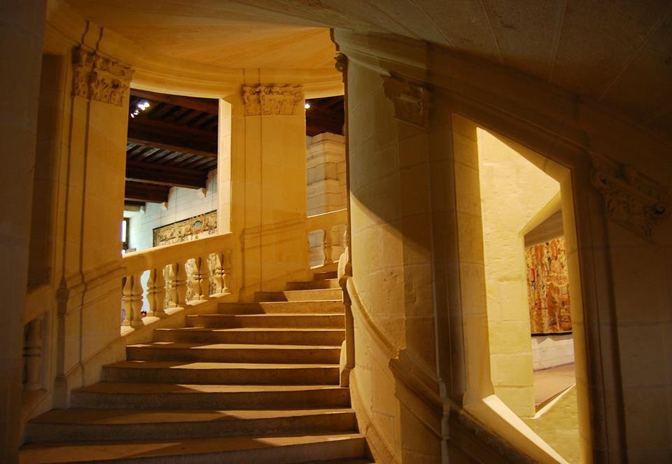 François 1er rencontre Léonard de Vinci à Bologne en Italie. Il l'invite à séjourner dans le Val de Loire