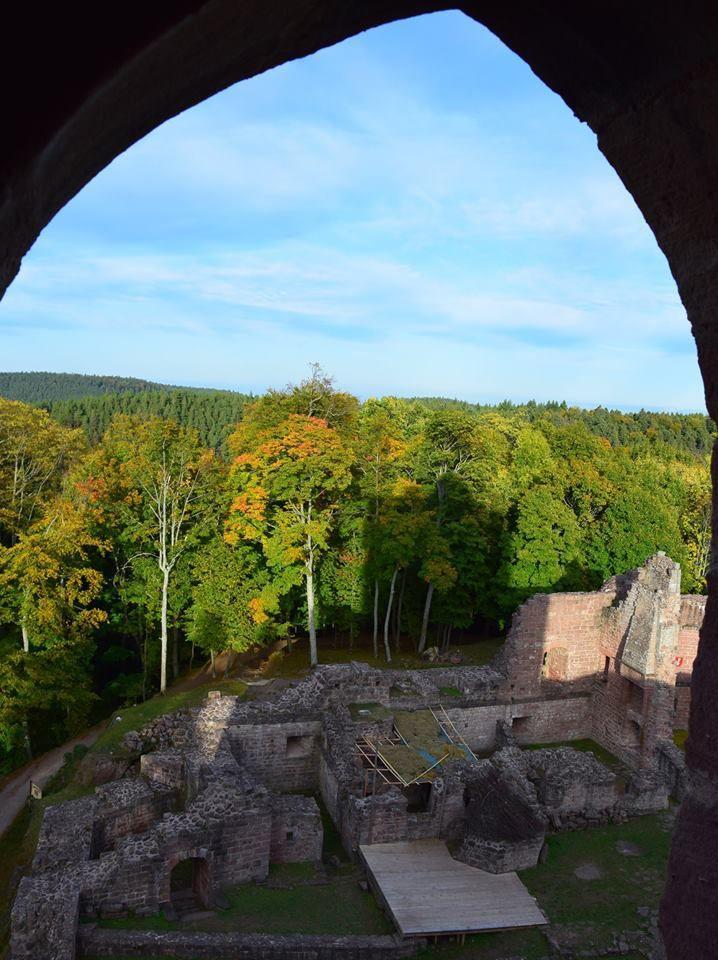 Le sentier des 3 fontaines et le château des Wangen