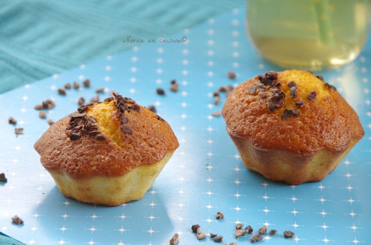 Muffins au grué de cacao