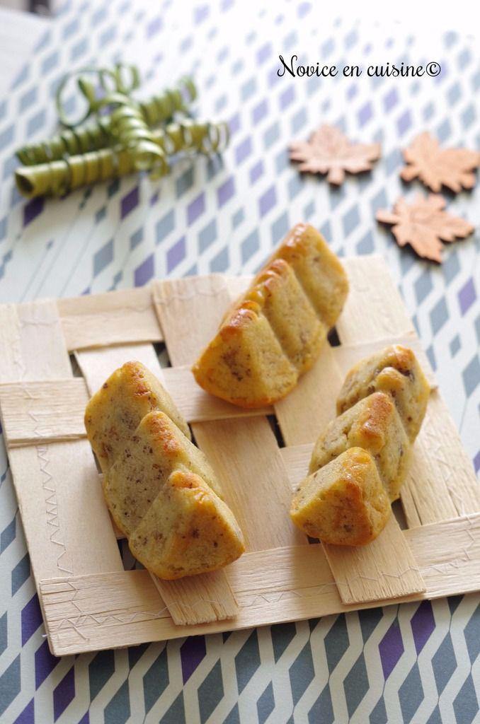Minis cakes au parmesan et noix