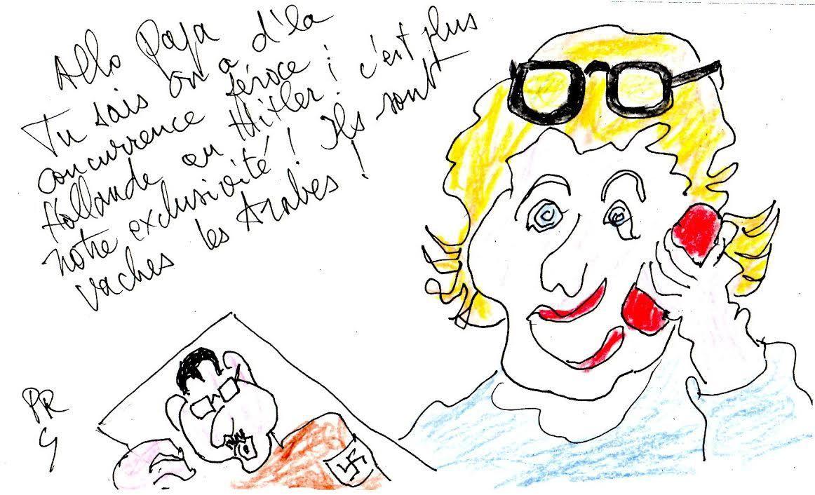 Hollande = Hitler