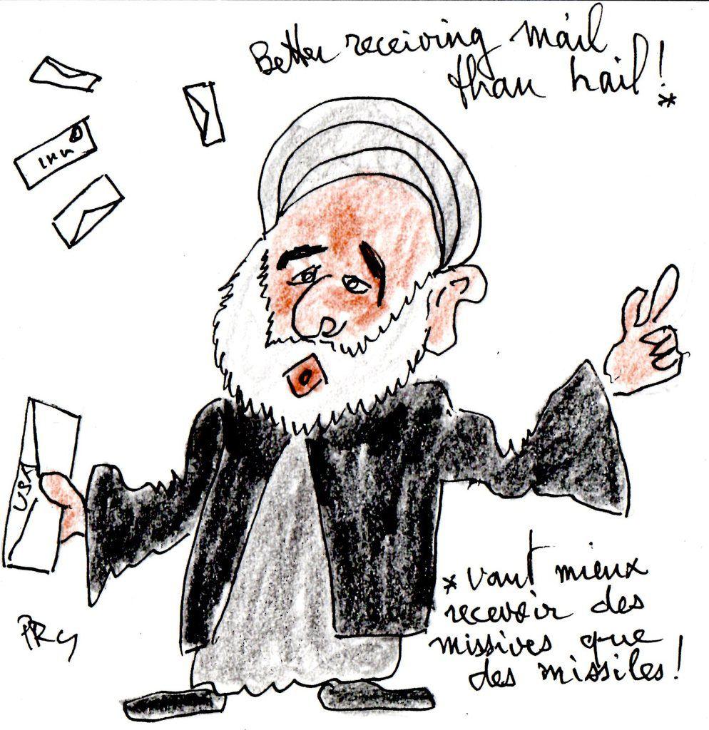 US News : Lettre à l'Iran