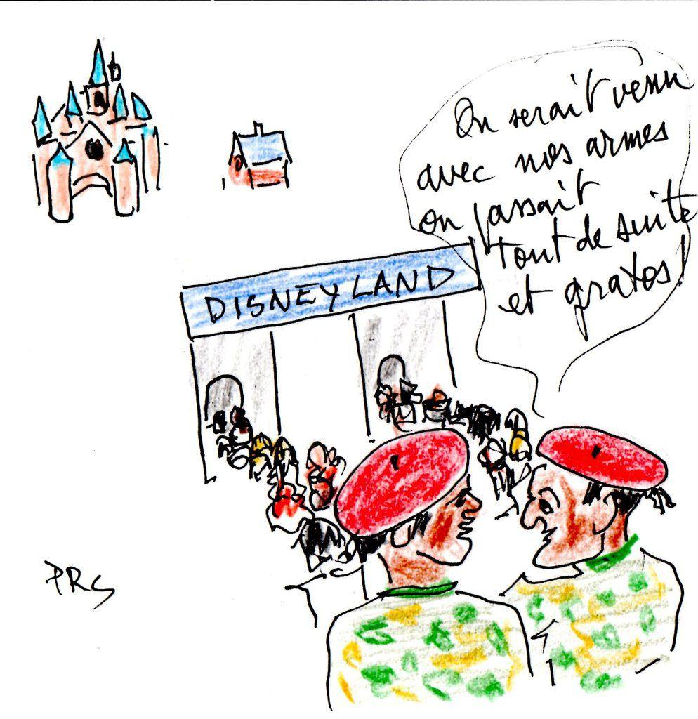 Disney et Vigipirate