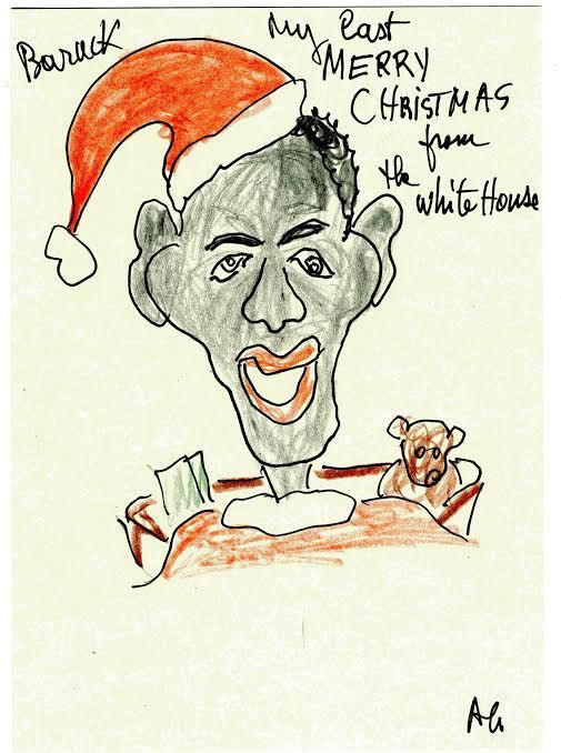 MERRY CHRISTMAS from Obama