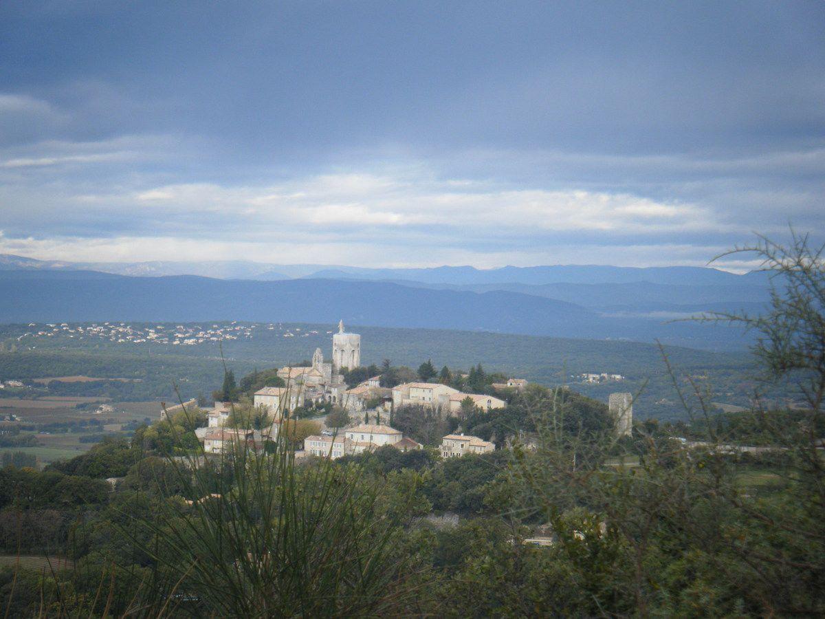 Panorama sur Clansayes