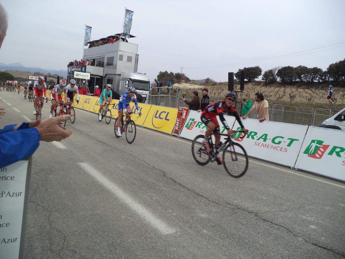 Dillier Sylvan (BMC), Laurent Pichon (FDJ), Lars Boom (Astana), Kuznetsov Viacheslav (Katusha), Guarnieri Jacobo (Katusha), Alafaci Eugenio (Trek)