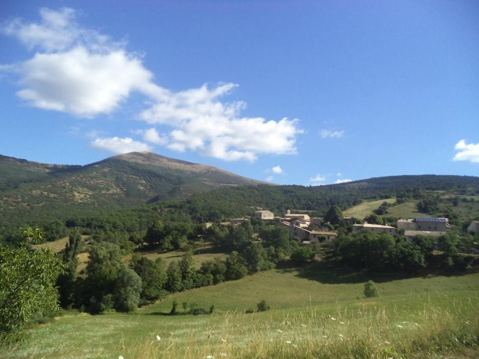 panorama sur Volvent, beau village perché !