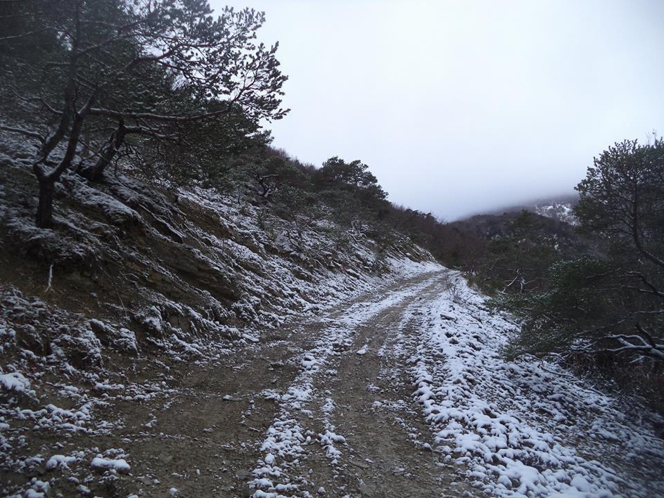 chemin du col de Lachaud