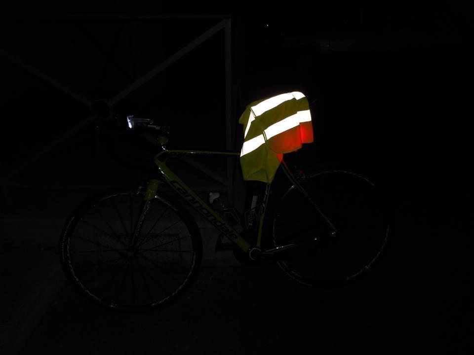 nuit noire, partie à 3h30 de Teyssières, j'arrive à 4h à Taulignan