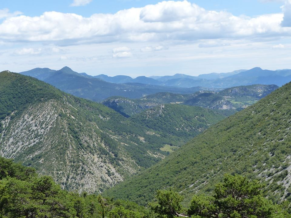 panorama sur les Baronnies