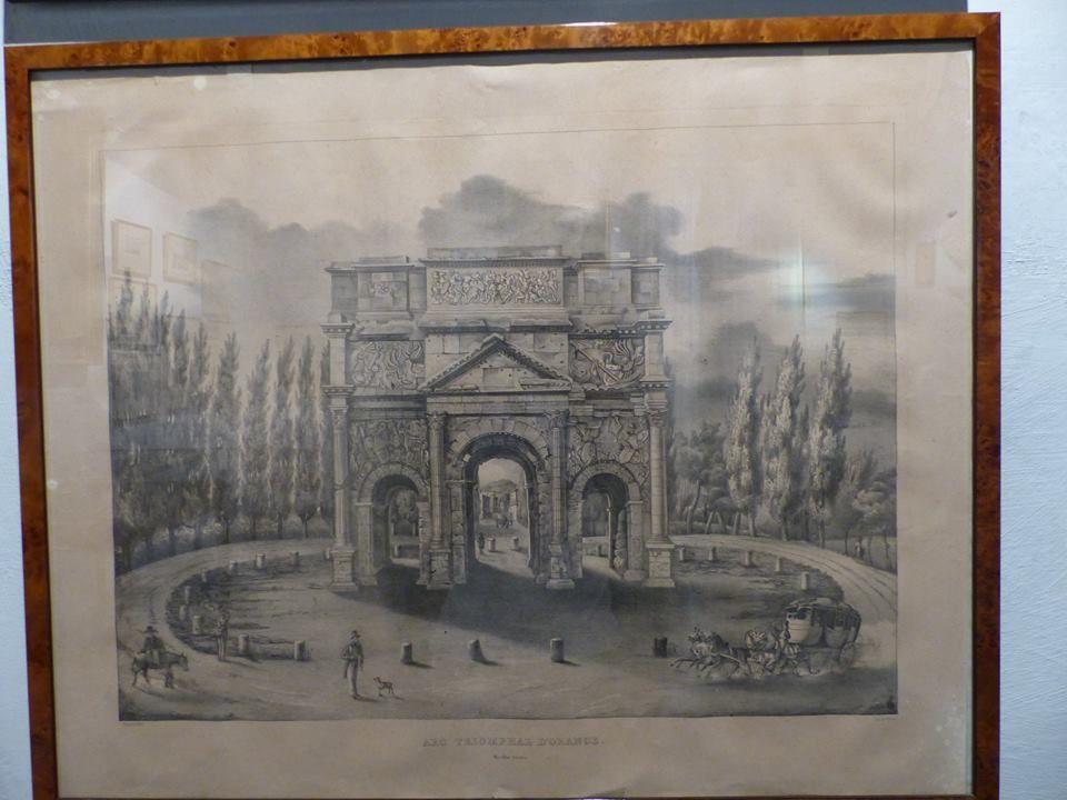 vieille représentation de l'arc